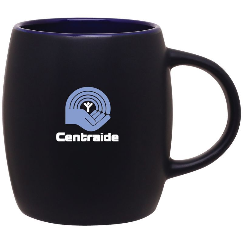 14 oz joe mug - matte black