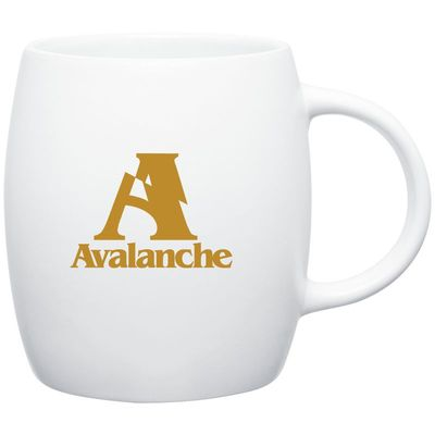 14 oz joe mug - matte white